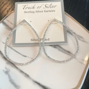 Touch Of Silver Sterling Silver Earrings